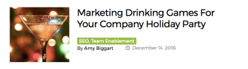 seo content marketing drinking games